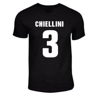 Giorgio Cheillini Juventus Hero T-shirt (black)