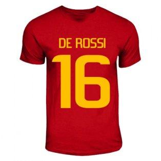 Daniel De Rossi Roma Hero T-shirt (red)