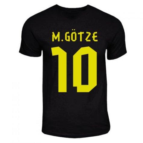 Mario Gotze Dortmund Away Hero T-shirt (black)