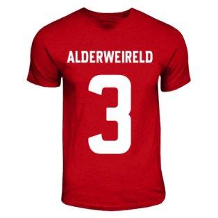 Toby Alderweireld Ajax Hero T-shirt (red)