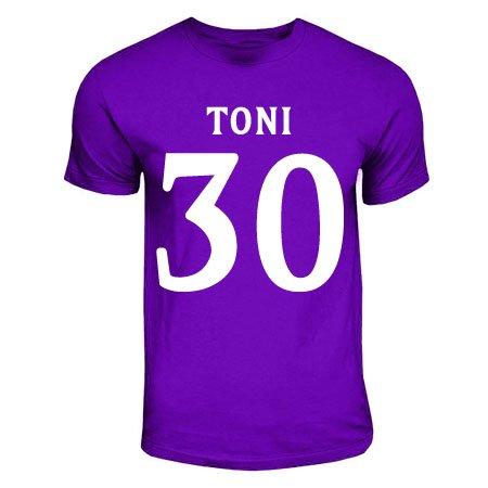 Luca Toni Fiorentina Hero T-shirt (purple)