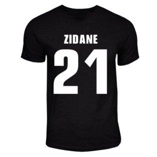 Zinedine Zidane Juventus Hero T-shirt (black)