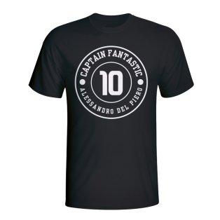 Del Piero Juventus Captain Fantastic T-shirt (back)