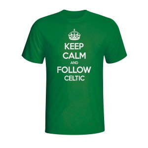 Keep Calm And Follow Celtic T-shirt (green)