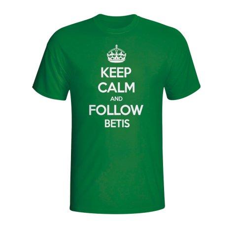 Keep Calm And Follow Real Betis T-shirt (green) - Kids