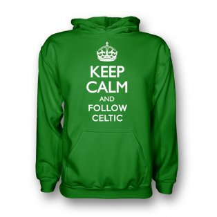 Keep Calm And Follow Celtic Hoody (green)