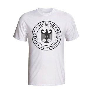 Germany Presidential T-shirt (white)