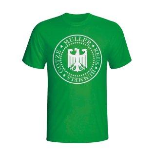 Germany Presidential T-shirt (green) - Kids
