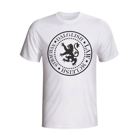 Scotland Presidential T-shirt (white) - Kids