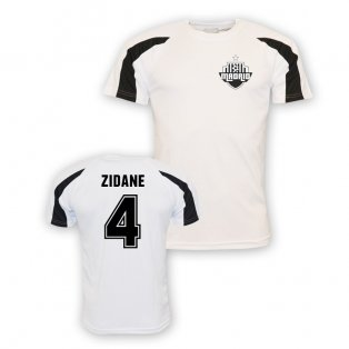 Zinedine Zidane Real Madrid Sports Training Jersey (white)