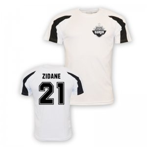 Zinedine Zidane Juventus Sports Training Jersey (white)