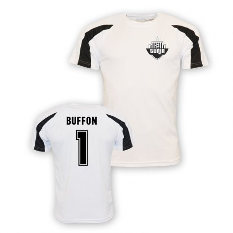 Gigi Buffon Juventus Sports Training Jersey (white) - Kids