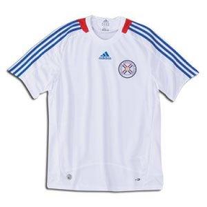 2009-2010 Paraguay Away Shirt (White)