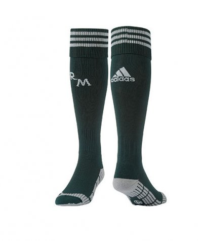 2012-13 Real Madrid Adidas 3rd Socks (Green)