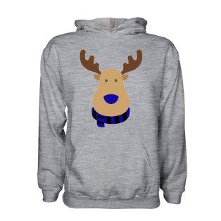 Club Bruuge Rudolph Supporters Hoody (grey) - Kids