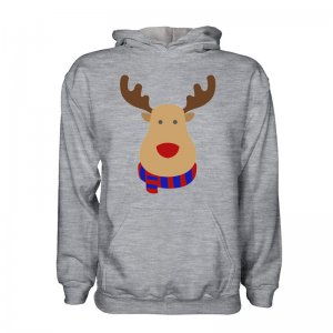 Cska Moscow Rudolph Supporters Hoody (grey) - Kids