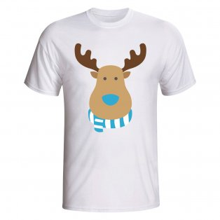 Man City Rudolph Supporters T-shirt (white)
