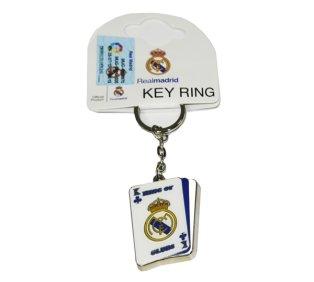 Real Madrid Playing Card Keyring
