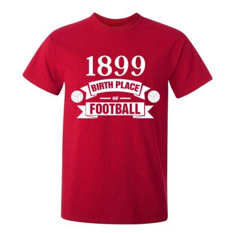 Cardiff City Birth Of Football T-shirt (red) - Kids