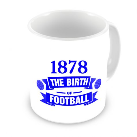 Everton Birth Of Football Mug