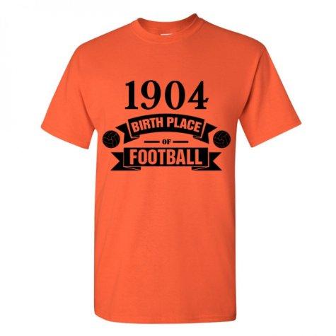 Hull City Birth Of Football T-shirt (orange)