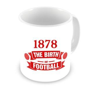 Man Utd Birth Of Football Mug