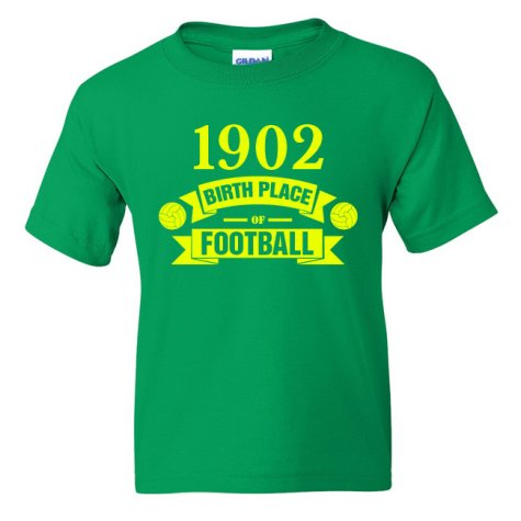 Norwich City Birth Of Football T-shirt (red)