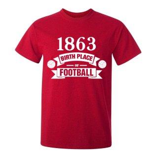 Stoke City Birth Of Football T-shirt (red)