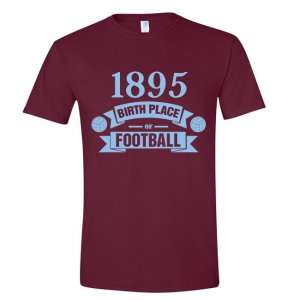 West Ham Birth Of Football T-shirt (claret)