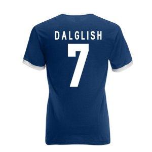 Kenny Dalglish Scotland Ringer Tee (navy)