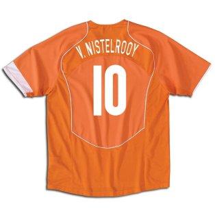 Holland home (V.Nistelrooy 10) 04/05