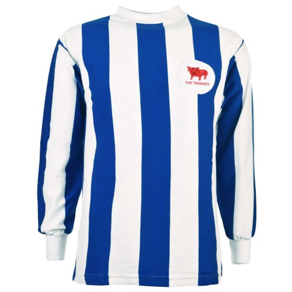 Huddersfield 1960s Retro Football Shirt ebe08ebf2eb44