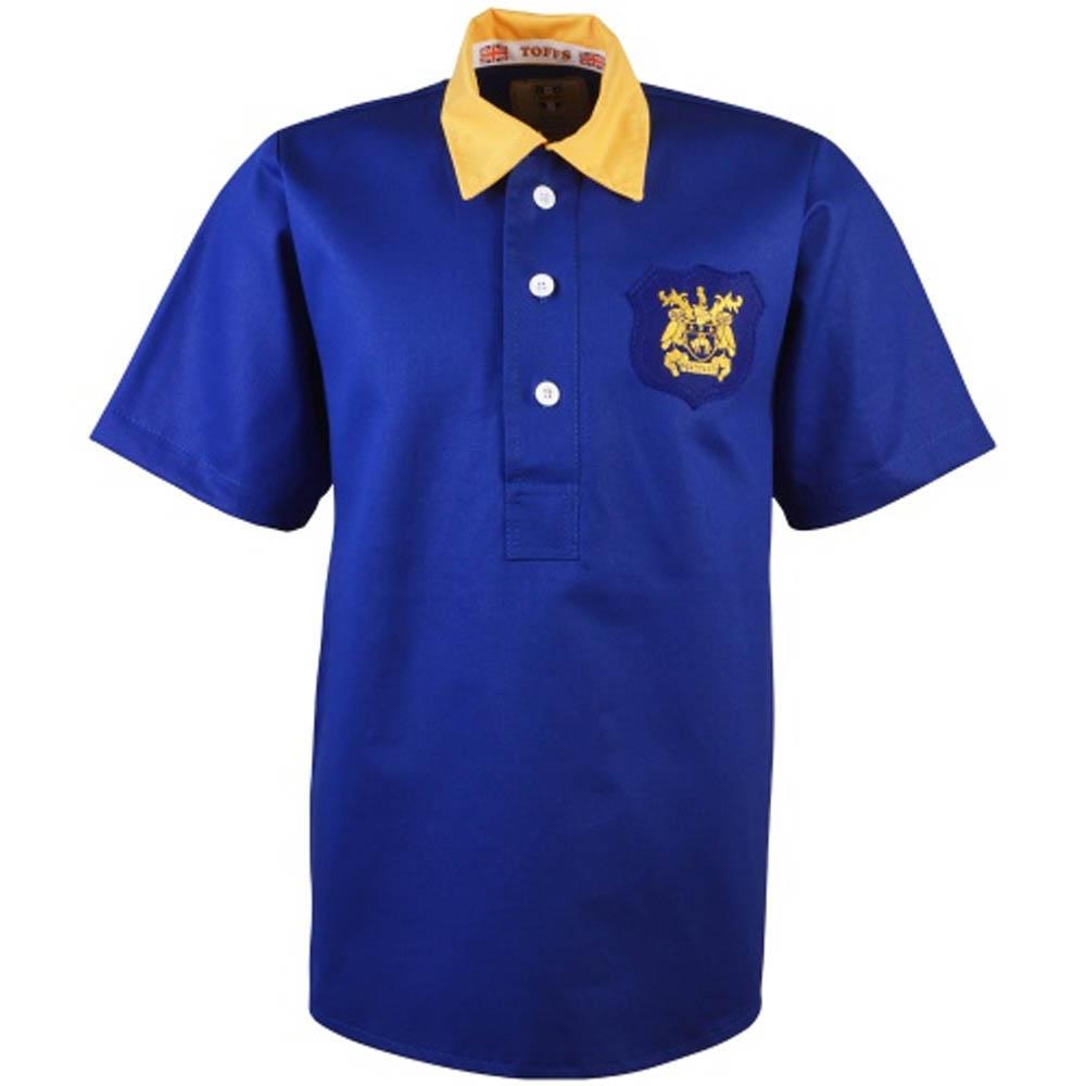 86998d956e1d Leeds United 1956-1957 Retro Football Shirt