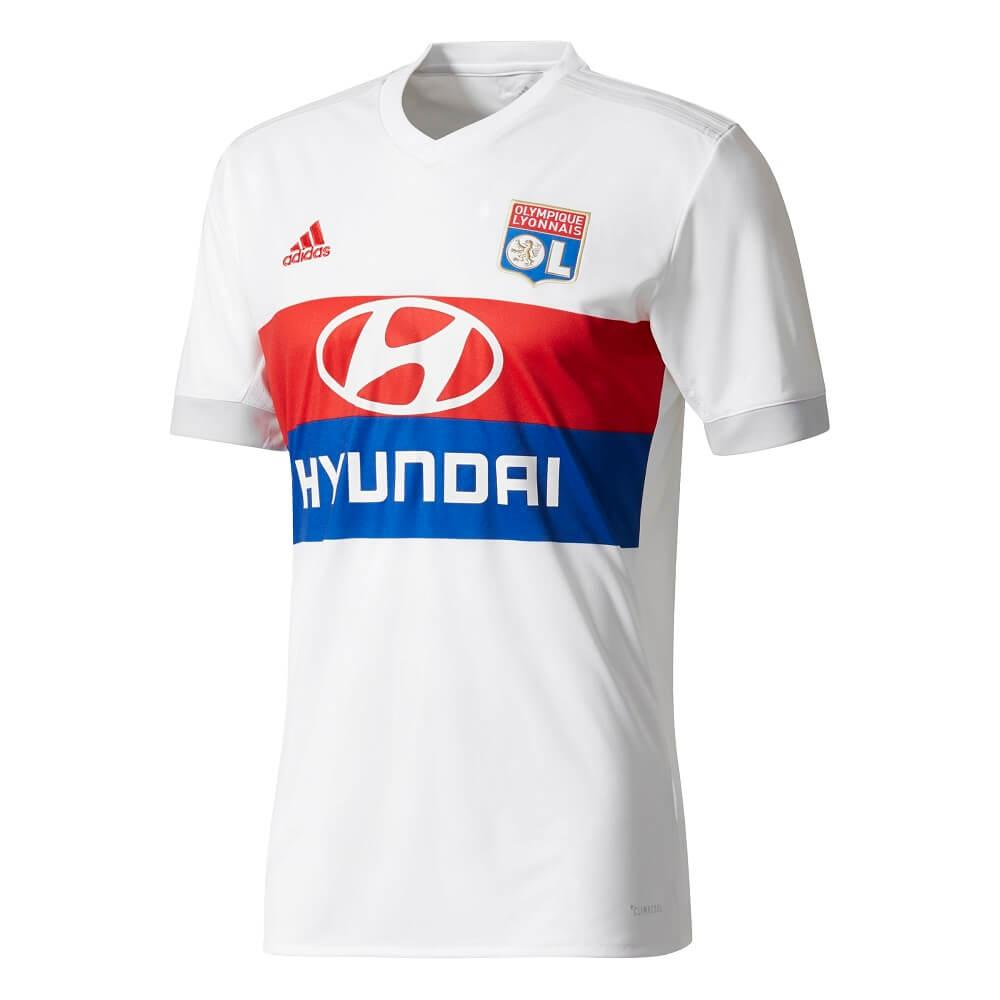 new products 5dc29 0753a 2017-2018 Olympique Lyon Adidas Home Football Shirt (Kids)