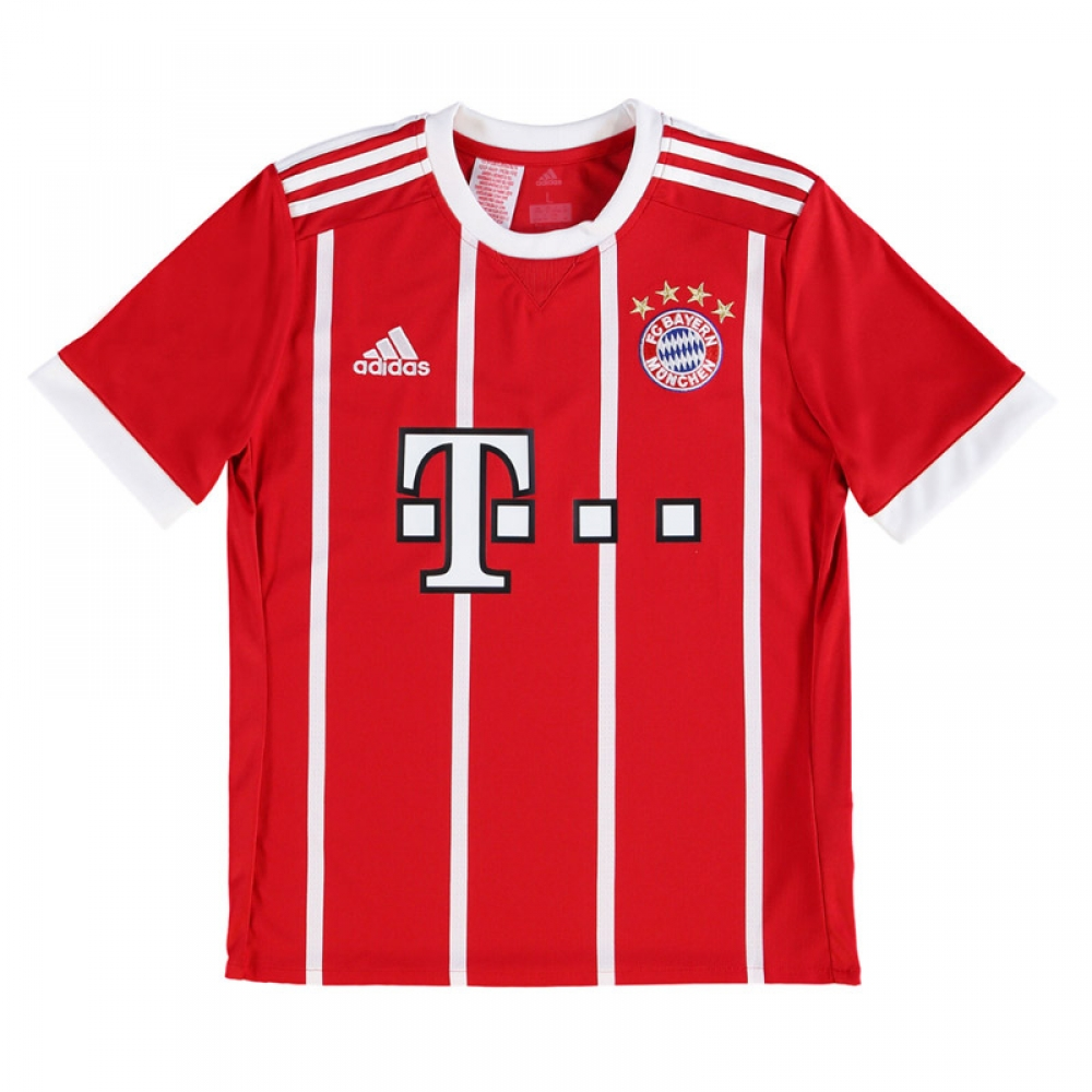 16af7945f 2017-2018 Bayern Munich Adidas Home Shirt (Kids)