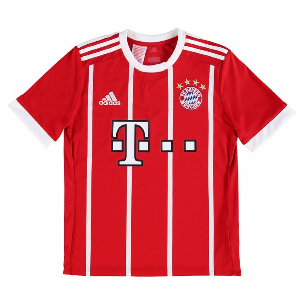 f2075777e 2017-2018 Bayern Munich Adidas Home Shirt (Kids)