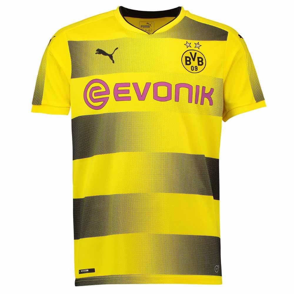 54caa2316 2017-2018 Borussia Dortmund Puma Home Football Shirt