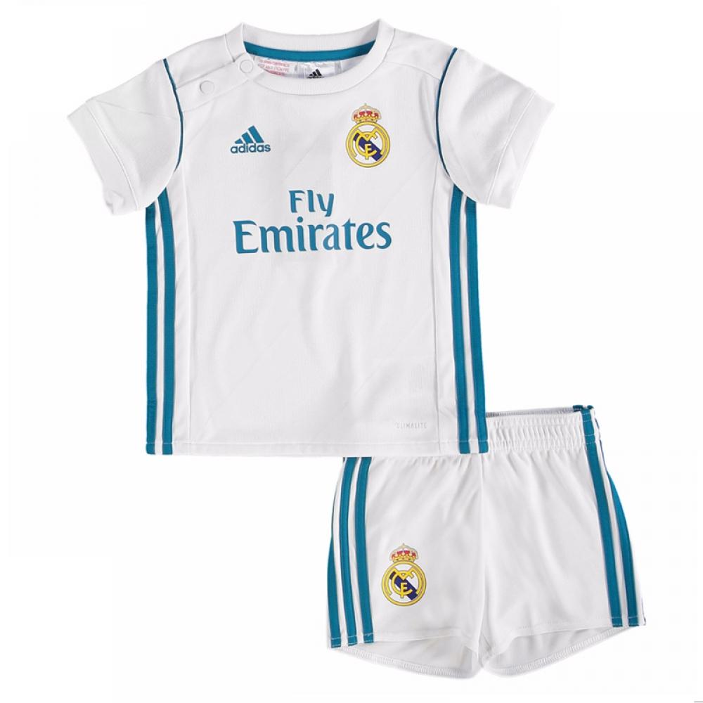huge discount f6945 2863d Real Madrid Home Shirt - Adult & Kids Kit - UKSoccershop.com