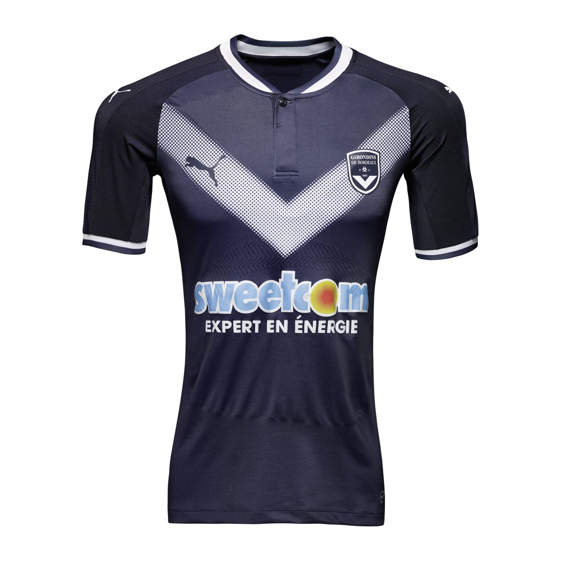 3f2adefb1916 2017-2018 Bordeaux Puma Home Shirt