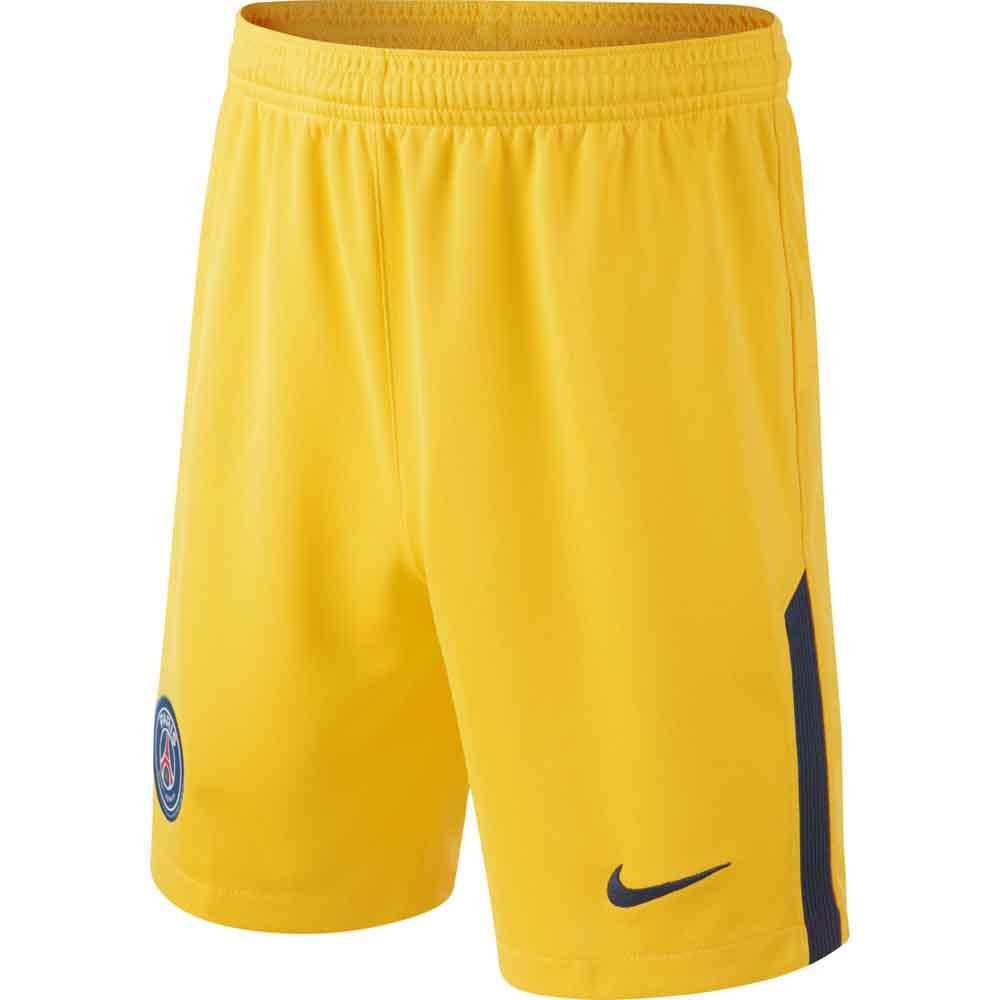 low priced a5b32 2f28c 2017-2018 PSG Away Nike Football Shorts (Kids)