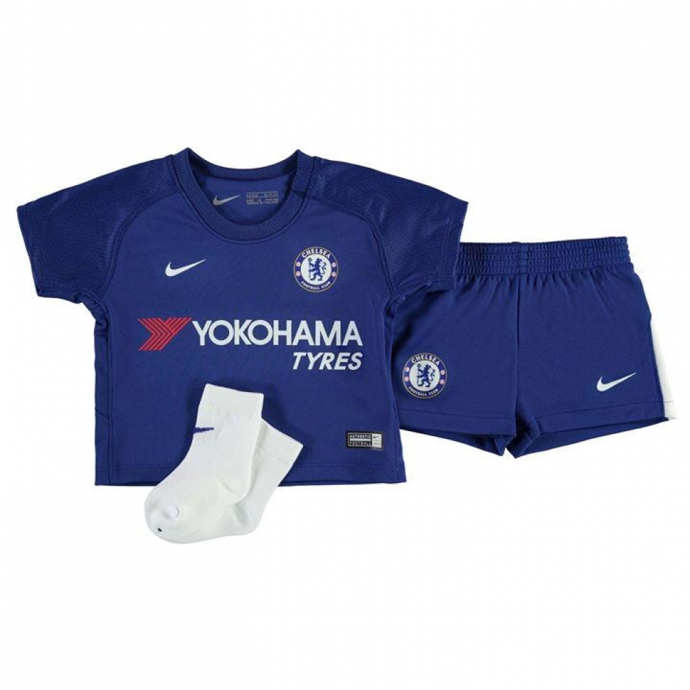 2017-2018 Chelsea Home Nike Baby Kit c633be2ca