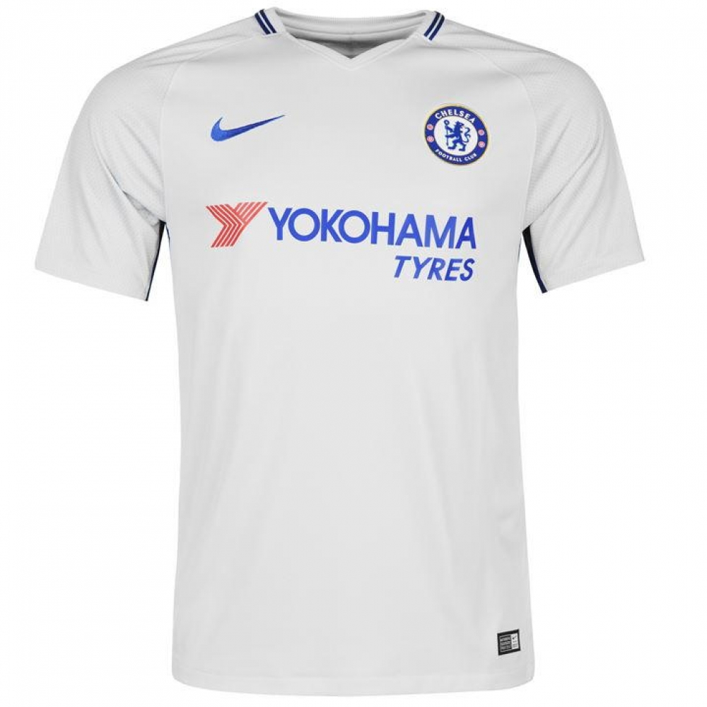 feeb56f4726 2017-2018 Chelsea Away Nike Football Shirt