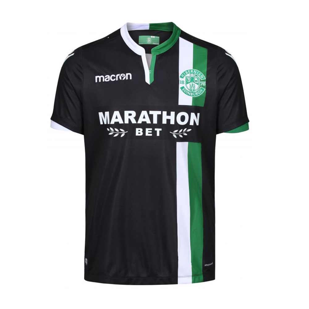627519982 2017-2018 Hibernian Macron Away Football Shirt