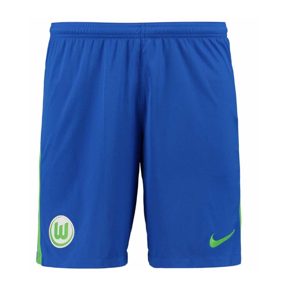 630508ccfa4e 2017-2018 VFL Wolfsburg Nike Away Shorts (Blue)