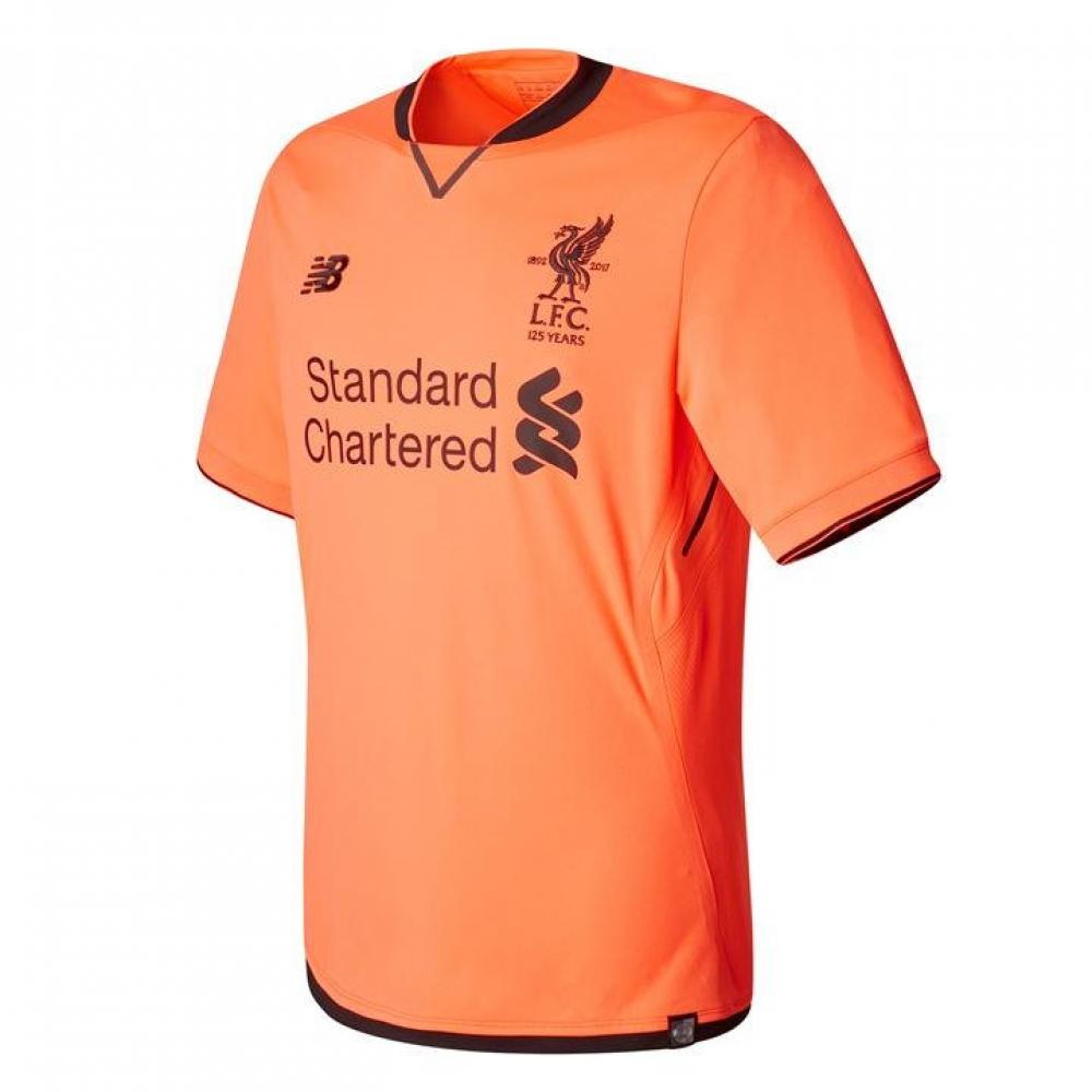 c3de7cb1c6e 2017-2018 Liverpool Third Football Shirt (Kids)