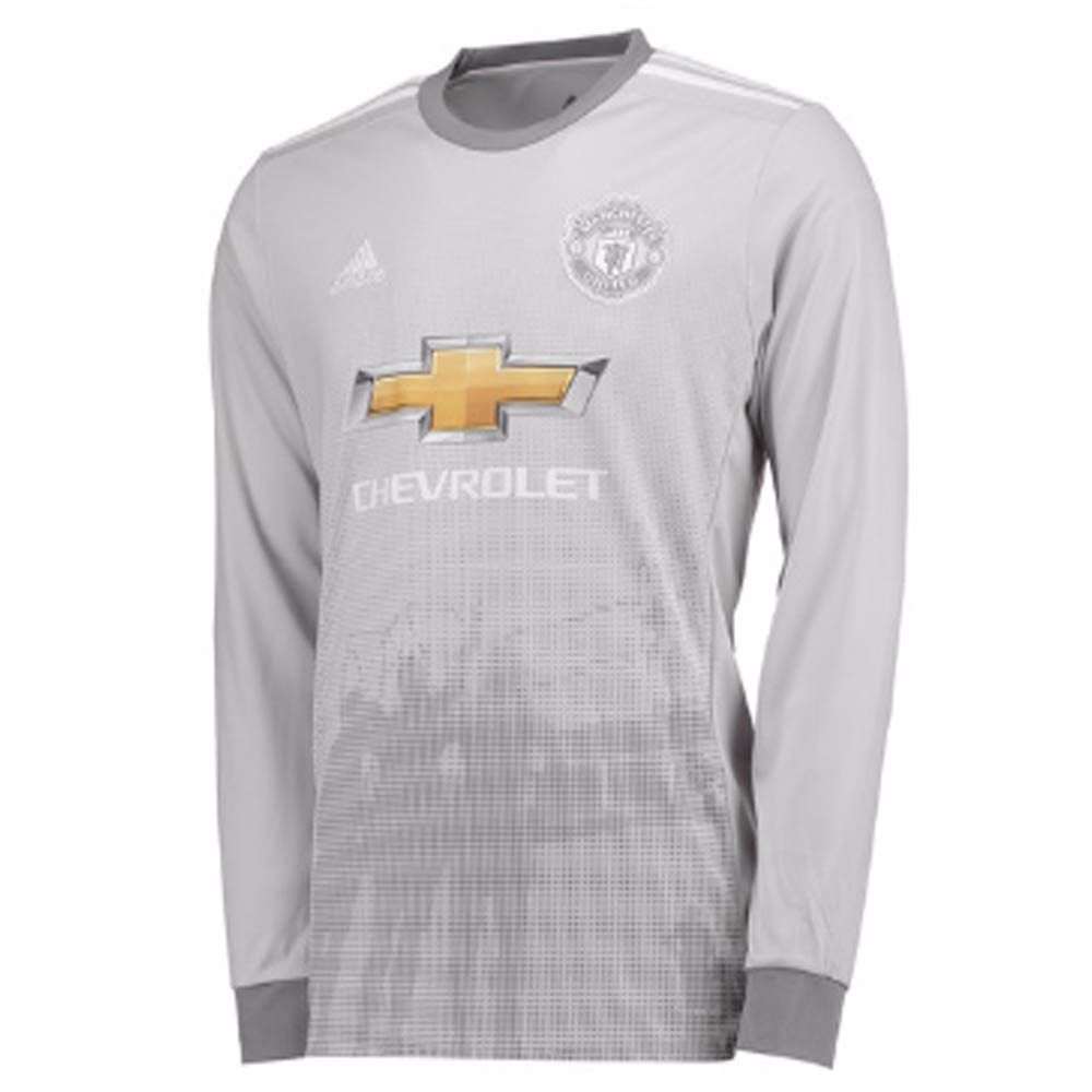 a508fe9db 2017-2018 Man Utd Adidas Third Long Sleeve Shirt (Kids)