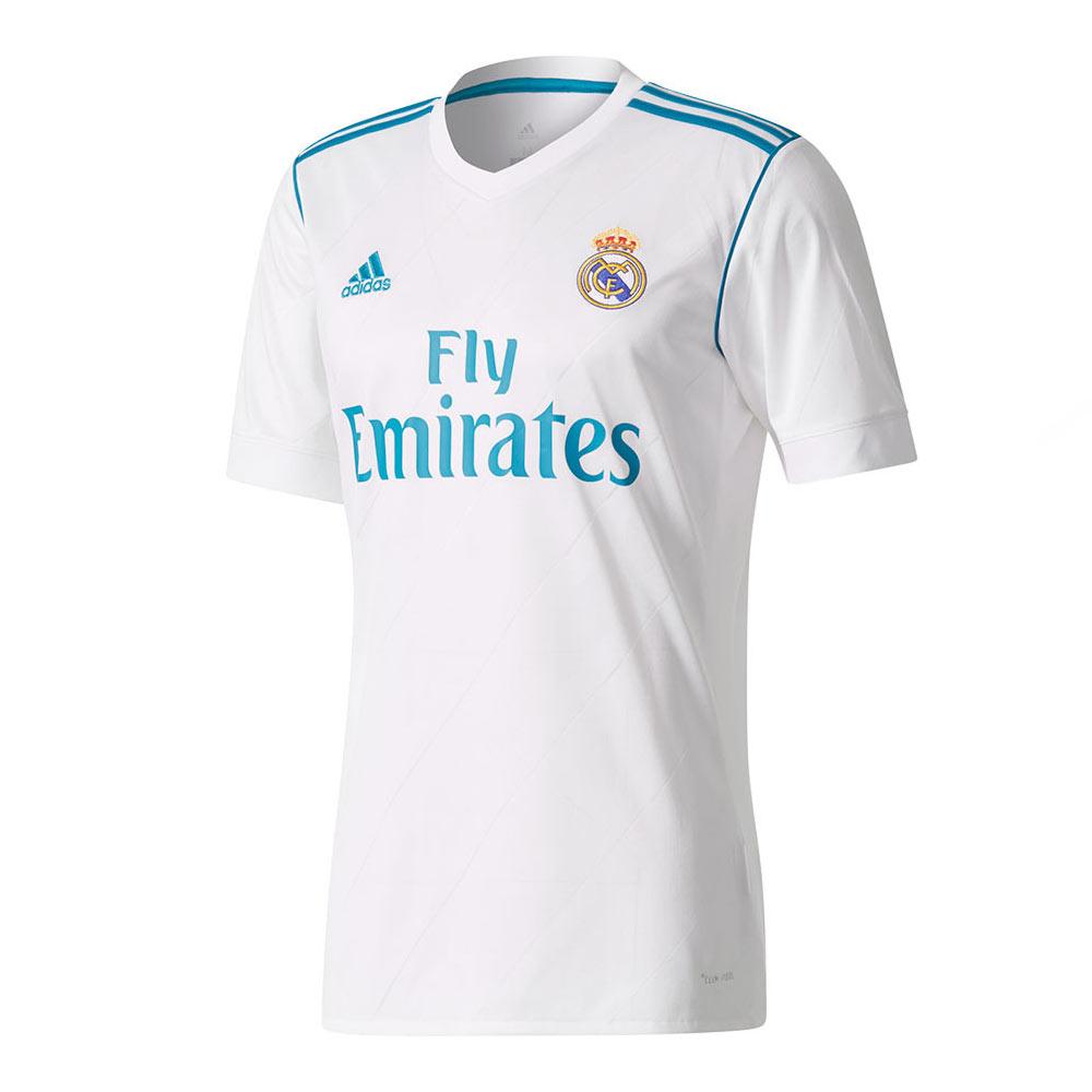 2017-2018 Real Madrid Adidas Home Football Shirt b28091962