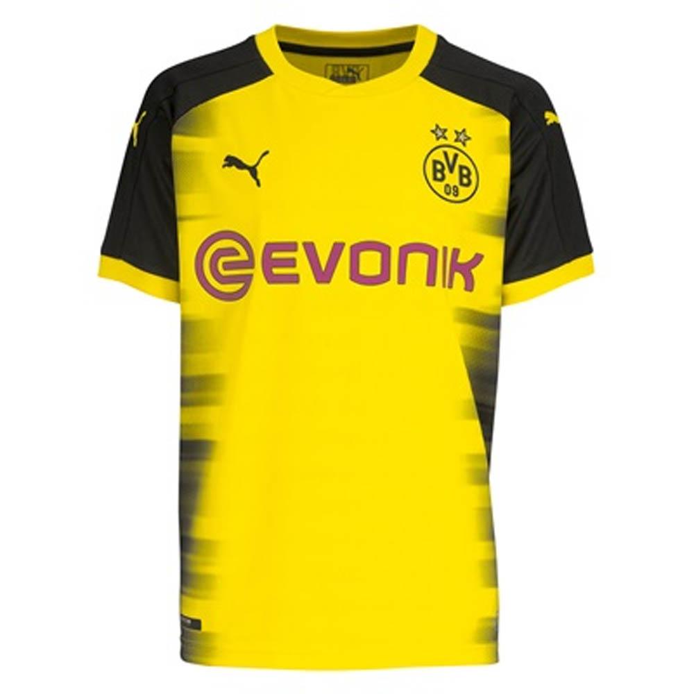 e93aef491 2017-2018 Borussia Dortmund UCL Home Puma Shirt (Kids)