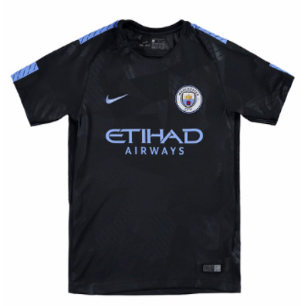 9115958ead5 2017-2018 Man City Third Nike Football Shirt (Kids)