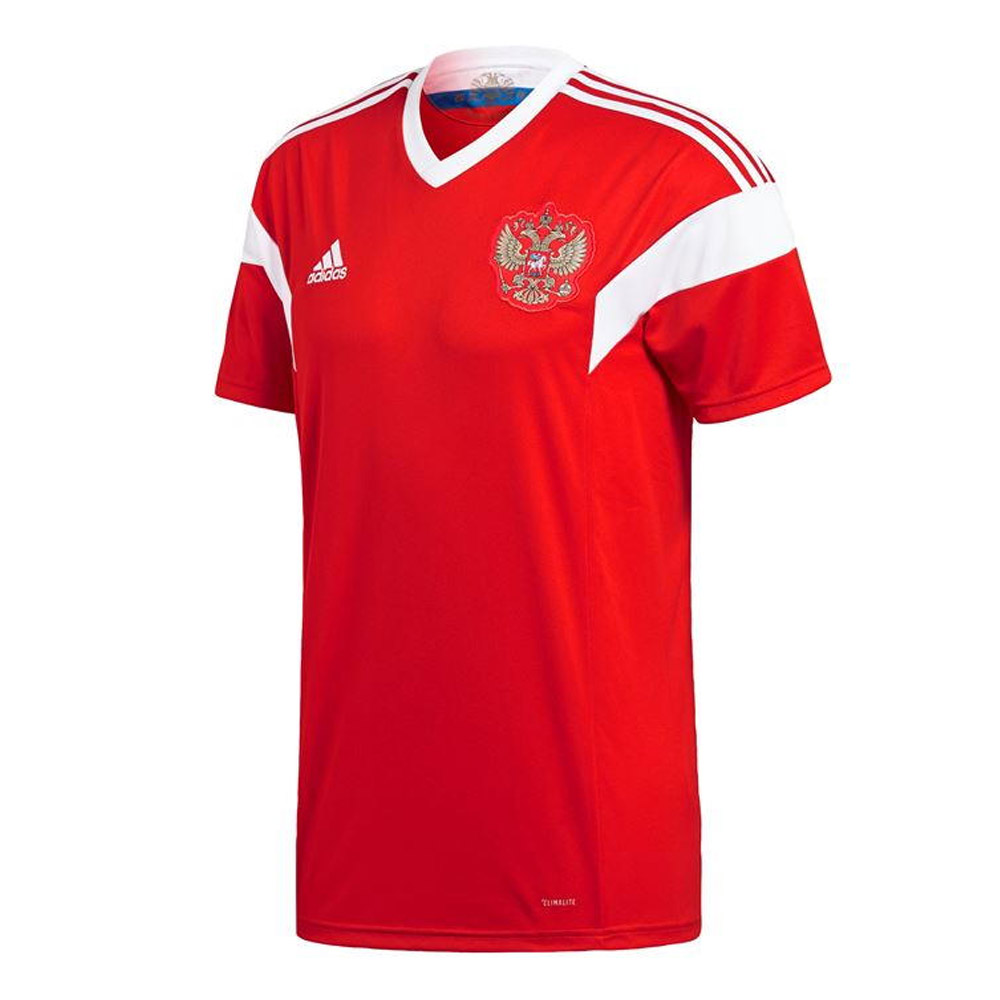 7e9be1407 2018-2019 Russia Home Adidas Football Shirt